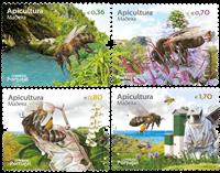 Madeira - Beekeeping - Mint set 4v