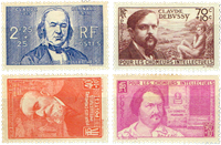 France - YT 436-39 - Mint