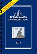 AFA Skandinavien frimærkekatalog 2014 med spiralryg