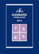 AFA stamp catalogue - Denmark block of 4 - 2014