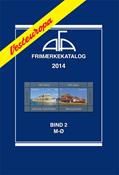 AFA Vesteuropa frimærkekatalog bind II, 2014 (M-Ø)