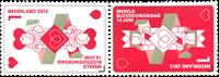 Holland - Bloddonation - Postfrisk sæt 2v