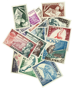 Monaco year 1952/53 mint