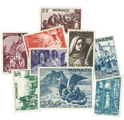 Monaco year 1944-45 mint