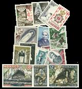 Monaco year 1958 mint