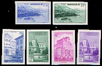 Monaco - Wievs imperforated
