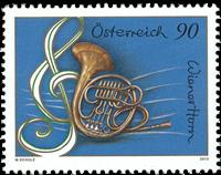 Austria - Vienna Horn - Mint stamp