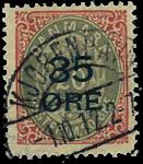 Danmark 1912 - AFA nr.61 - Stemplet
