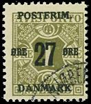 Danmark 1918 - AFA nr.85x - Stemplet