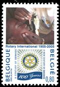 Belgien - Rotary - Postfrisk frimærke