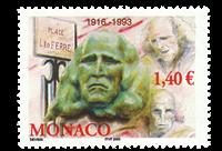 Monaco - Leo Ferre - Postfrisk frimærke