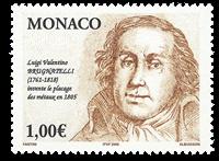 Monaco - L.V.Brugnatelli - Mint stamp