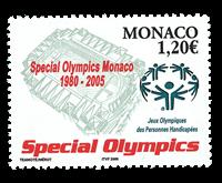 Monaco - Paralympics - Mint stamp
