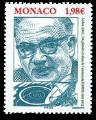 Monaco - Berømte personer - Kuipper - Postfrisk frimærke