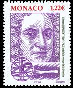 Monaco - Berømte personer - Halley - Postfrisk frimærke