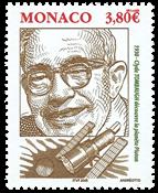 Monaco - Berømte personer - Pluton - postfrisk frimærke