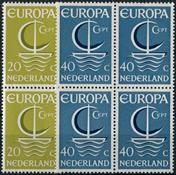 Holland 1966 - NVPH 868-869 - Postfrisk - 4-blok