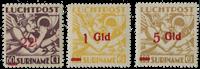Surinam - Airmail Mercuriuskop 1945