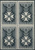 Netherlands 1965 - NVPH 839 - Mint - 4 block