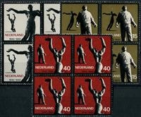Netherlands 1965 - NVPH 836-838 - Mint - 4 block