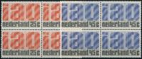 Netherlands 1969 - NVPH 918-919 - Mint - 4 block