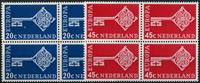 Netherlands 1968 - NVPH 906-907 - Mint - 4 block