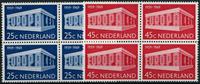 Netherlands 1969 - NVPH 925-926 - Mint - 4 block