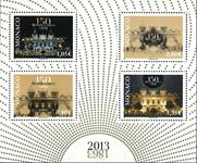 Monaco - 150 året for Casinoet - Postfrisk miniark