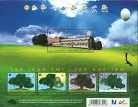 Belgien - Meteorologi - varmefølsom - Postfrisk miniark
