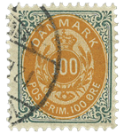 Danmark 1895 - AFA nr.31By - Stemplet