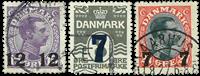 Danmark 1926 - AFA nr.157-59 - Stemplet