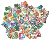 Indonesia - 300 different stamps