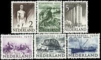 Nederland 1950 - Nr. 550-555 - Postfris