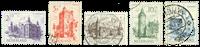 Nederland - Zomerzegels 1951 (nr. 568-573, gebruikt)