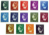 Netherlands - NVPH 332-345 - Unused