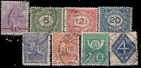 Netherlands 1921-1923 - NVPH 106-113 - Cancelled
