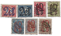 Netherlands 1923 - NVPH 114-120 - Cancelled