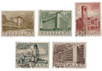 Zomerzegels 1955 (nr. 655-659, gebruikt)