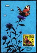 Åland - Sommerfugl - Maximumskort