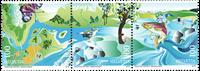 Schweiz - Naturgenoprettelse - Postfrisk sæt 3v