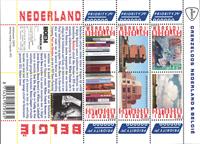 Holland - Grænselose Holland og Belgien - Postfrisk miniark