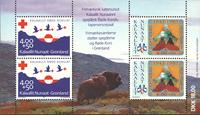 Greenland - Red Cross - Mint souvenirsheet
