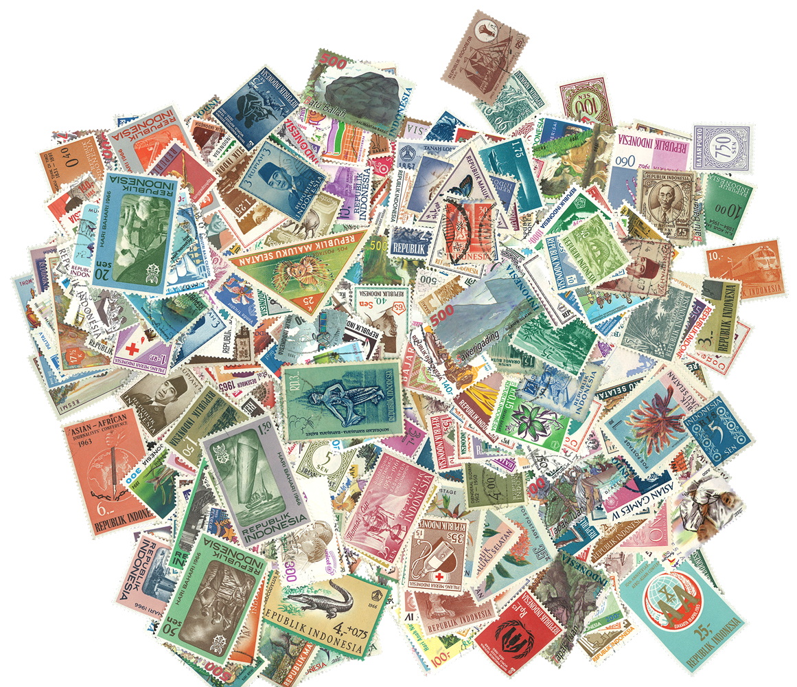 Indonesien 620 forskellige