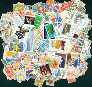 Denmark 1200 diff. stamps