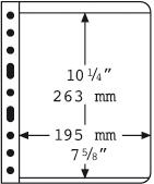 Vario indstikskort - 1 stribe - Sort - Pakke med 5  stk., fra Leuchtturm