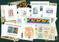 Rwanda 47 souvenir sheets