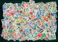 France - 250 stamps 1960-70