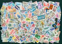 France - 250 stamps 1970-80