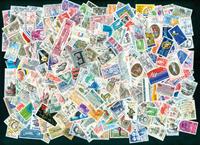 France - 250 stamps 1980-90