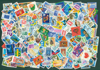 Frankrig - 250 frimærker 1990-2000